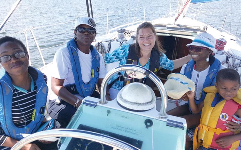 Photo courtesy of The Sailing Academy