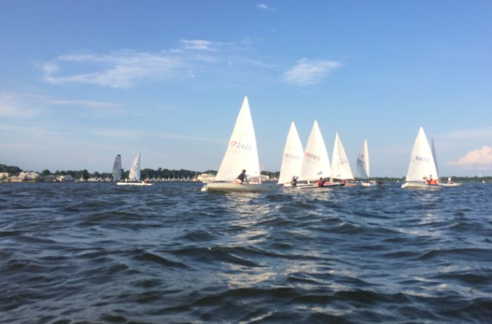 This photo was taken last week at SSA's TESOD by commodore Kim Couranz. Racing Roundup