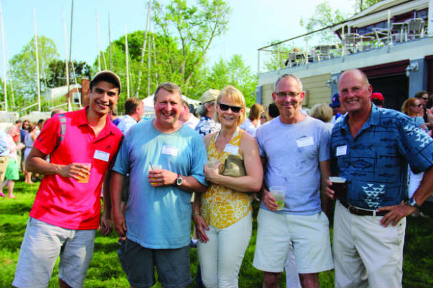 Our Annapolis Crew Party at EYC April 22 is our largest.