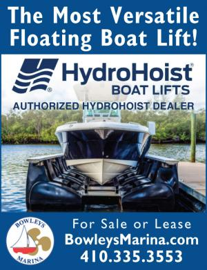 HydroHoist Boat Lifts for sale or lease by Bowleys Marina in Baltimore