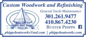 Phipps Boat Works is a marine maintenance facility located at the Herrington Harbour North marina in Tracy's Landing, MD.