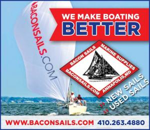 Bacon Sails offers new and used boating and sailing gear in Annapolis, Maryland
