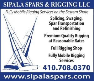 Sipala Spars and Rigging offers fully mobile services on Maryland's Eastern Shore.