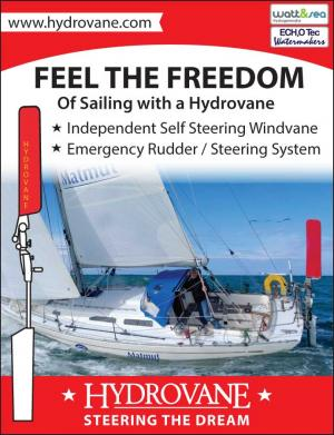 Hydrovane International Marine Inc. is an independent self steering windvane.