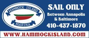 Hammock Island Marina located in Pasadena, Maryland off of Bodkin Creek is a sailboat only marina.
