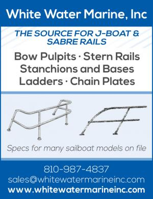White Water Marine, Inc is hte source for J-Boats and Sabre Rails.