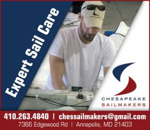 Expert sail care at Chesapeake Sailmakers in Annapolis, Maryland.