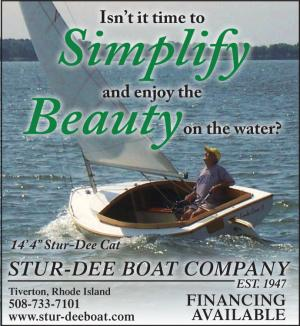 Stur-Dee Boat Company, located in Tiverton Rhode Island has financing available for wooden sailboats.
