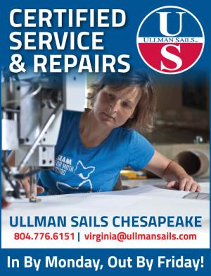 Ullman Sails Chesapeake offers certified service and repairs.