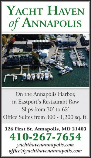 Annapolis Yacht Haven is located on the Annapolis Harbor, in Eastport's Restaurant Row.