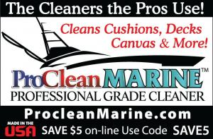 CWP ProSeries are professional grade cleaners can be used to clean hulls, decks, engines, seats and upholstery.