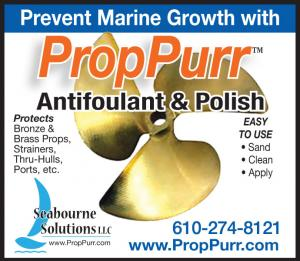 Seabourne Solutions presents PropPurr, an antifoulant & polish to prevent marine growth.