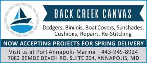 Back Creek Canvas does dodgers, biminis, boat covers, sunshades, cushions, repairs, and re-stitching located in Annapolis, Maryland.