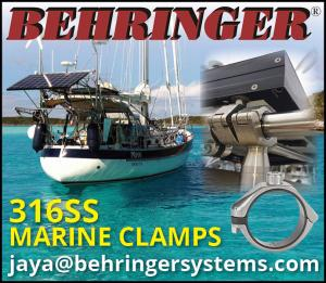 Behringer Systems 316SS Marine Clamps