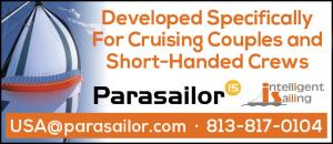 Parasailor - Developed specifically for cruising couples and short-handed crews.