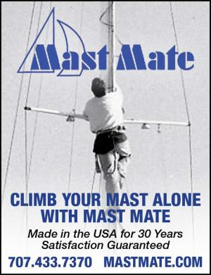 Climb your mast alone with Mast Mate