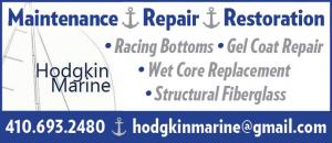 Hodgkin Marine Services - Sailboat Maintenance, Repair, Restoration, Racing Bottoms, Gel Coat Repair, Wet Core Replacement, Structural Fiberglass