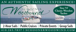 Schooner Woodwind - An authentic sailing experience! Two 74 foot classic wooden yachts. 2-hour sails, public cruises, private events, group sails.