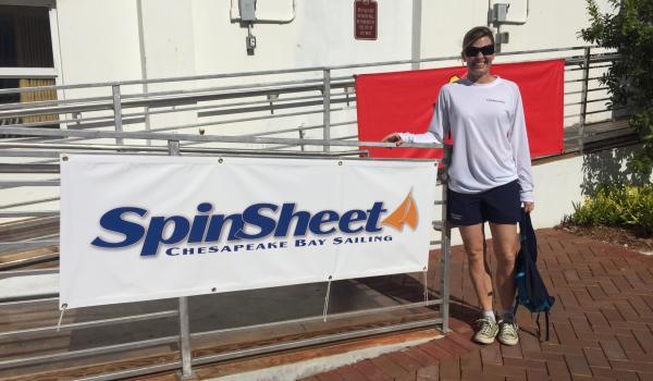 SpinSheet banner at Quantum Key West Race Week
