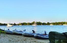 HHSA sailors enjoy the cruising season.
