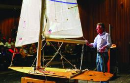 An Ullman Sails demo at SOS Spring Training.