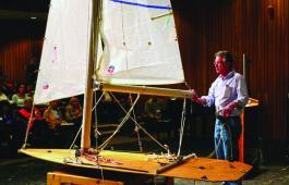 An Ullman Sails demo at SOS Spring Training.