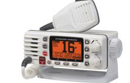 Make sure club members know how to use a VHF radio.