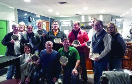 CHESSS winners receiving awards last fall.
