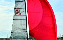 HYC member Pete Hunter's Wairere took first in PHRF A.