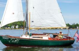 Jack and Erewhon in Annapolis. Photo by Al Schreitmueller