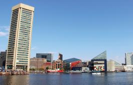 Baltimore's Inner Harbor by Kaylie Jasinski