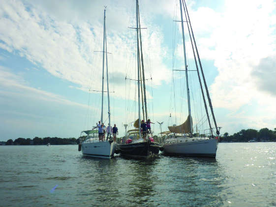 How about row boats instead of row houses? Tiny house vs. sailboat