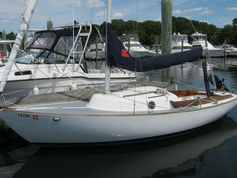 Cape Dory Typhoon >> The Cape Dory Typhoon Used Boat Review