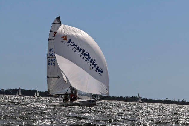 the Viper 640 Terminally Pretty at the Nationals. Viper 640 class Facebook photo