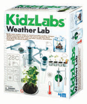 Kids love weather. Help them learn with a weather lab kit.