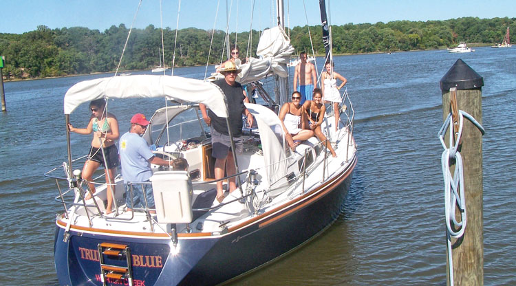 A cruising boat is a great way to round up the cousins for family fun. Photo courtesy of Mike Boylan