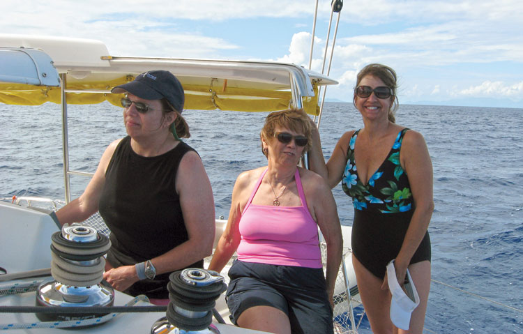 Tahaa to Bora Bora, French Society Islands