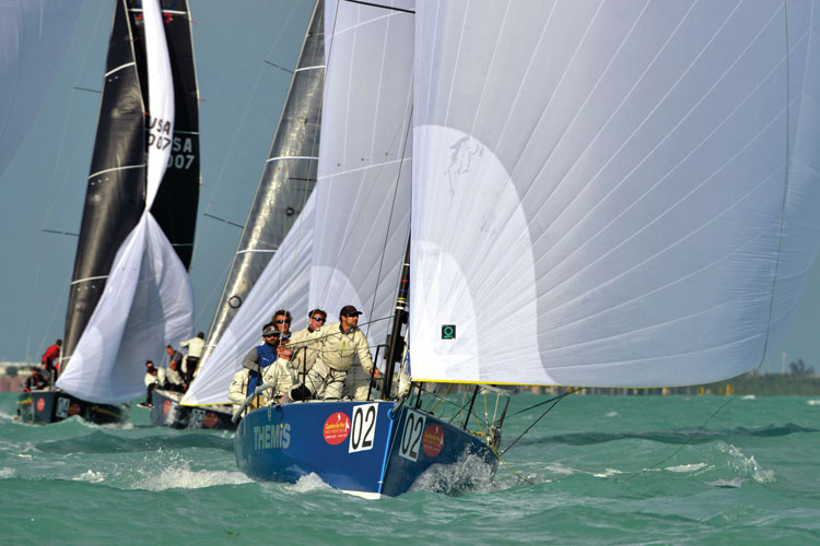 Themis: Walt's Wet and Wild team. Photo by Max Ranchi for Key West Race Week
