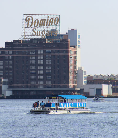 Take advantage of discounted winter fares and ride the water taxi all day for $8.