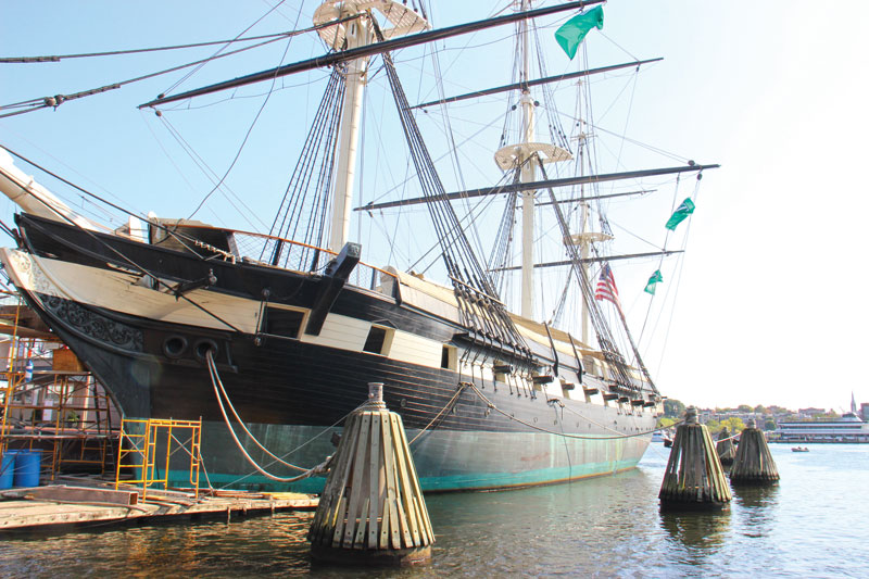 Take a tour of the USS Constellation at Pier 1 in the Inner Harbor.