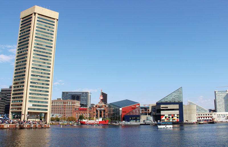 Baltimore's Inner Harbor by Kaylie Jasinski