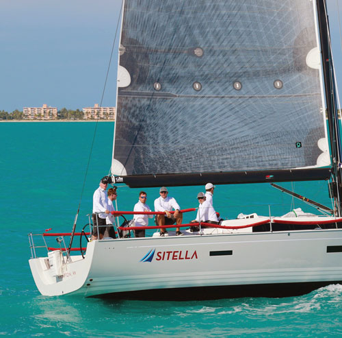Ian Hill's Hampton-based racer/cruiser Sitella at Quantum Key West Race Week 2017. Photo courtesy of Ian Hill