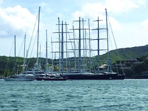 Antigua masts.