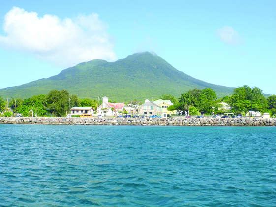 Nevis peak.