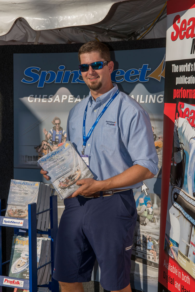 Stop by the SpinSheet booth at the boat show. We love to see our readers and advertisers.